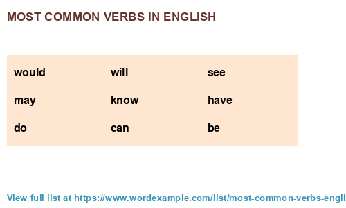 most common verbs in english 1 000 results most common verbs in english 1 000